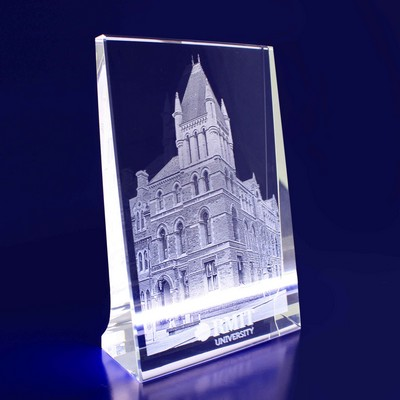 Picture of 2D Photo Vertical Crystal Award / Gift