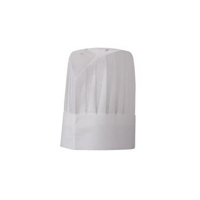 Picture of Oval Top Pleated Chef Hat - 9""