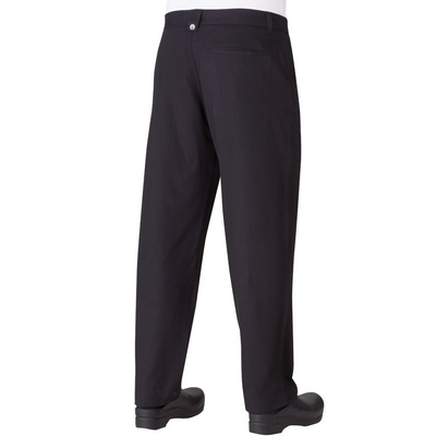 Picture of Black Constructed Chef Pants