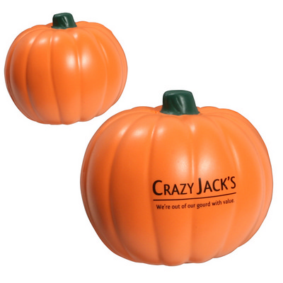 Picture of Pumpkin Shape Stress Reliever