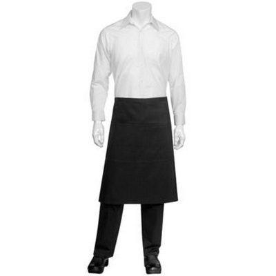 Picture of Black Reversible 3/4 Apron