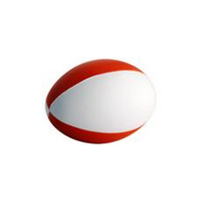 Picture of Football Red & White (4 Panels)