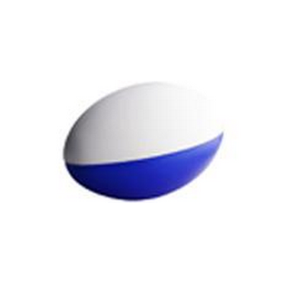 Picture of Stress Football Blue & White (2 Panels)