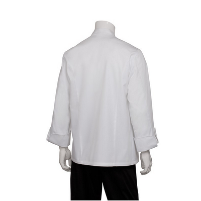 Picture of Monza White Executive Chef Jacket