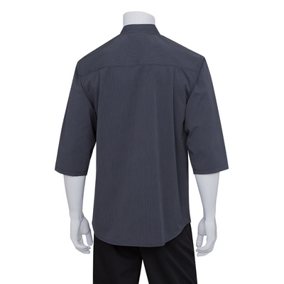 Picture of Deep Grey 3/4 Sleeve Chef Shirt