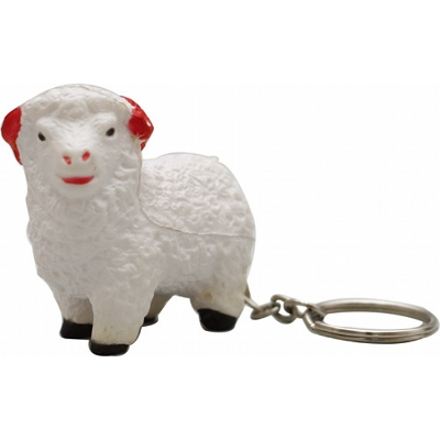 Picture of STRESS SHEEP KEY RING