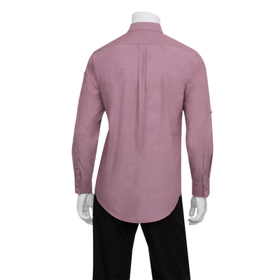 Picture of Mens Chambray Dusty Rose Shirt