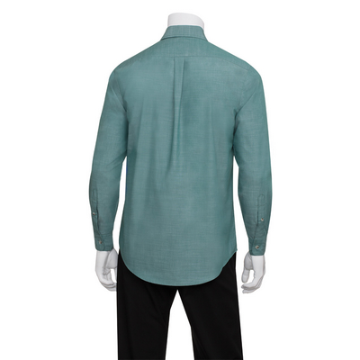 Picture of Mens Chambray Green Mist Shirt