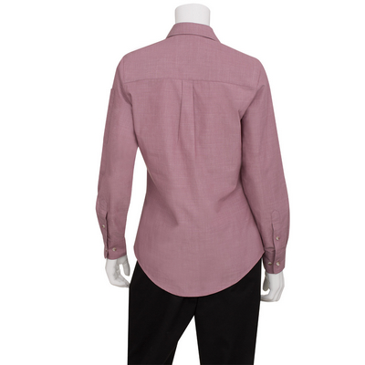 Picture of Ladies Chambray Dusty Rose Shirt