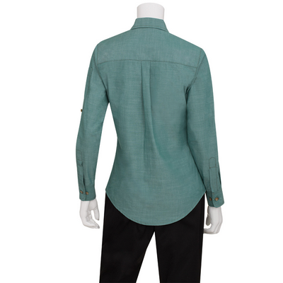 Picture of Ladies Chambray Green Mist Shirt