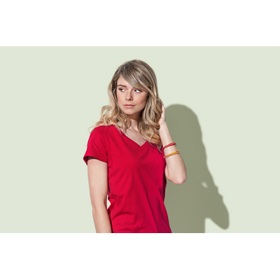 Picture of Women's Organic V-Neck