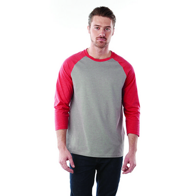 Picture of DAKOTA Three Quarter Tee - Mens