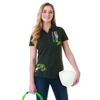 Picture of ACADIA Short Sleeve Polo - Womens