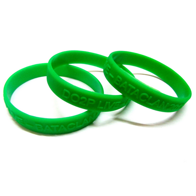 Picture of Embossed Raised Image Wristband