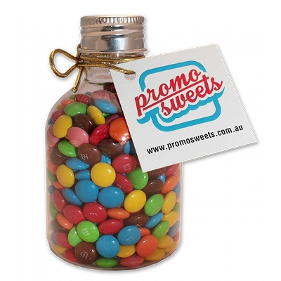Picture of No Neck Bottle - Mini M&M's with swing tag