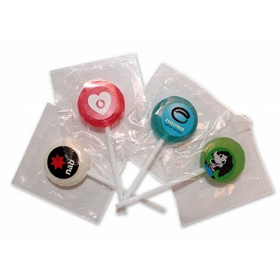 Picture of Mixed Lollipops 27mm Tutti Fruitti Flavour