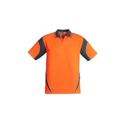 Picture of Mens Hi Vis Aztec Polo - Short Sleeve