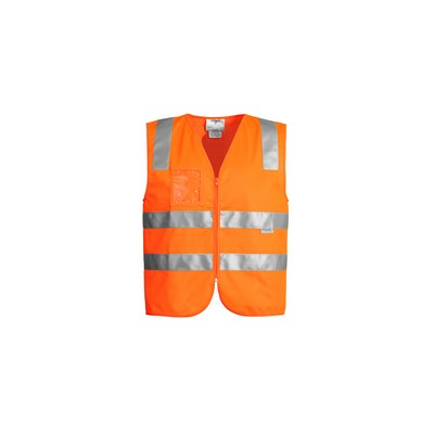 Picture of Unisex Hi Vis Full Zip Vest