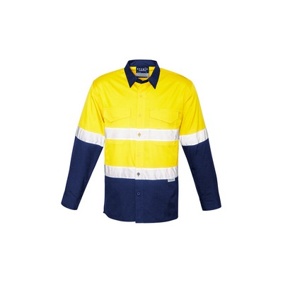 Picture of Mens Rugged Cooling Taped Hi Vis Spliced Shirt