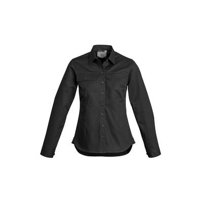 Picture of Womens Lightweight Tradie Shirt - Long Sleeve