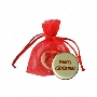Signature Chocolate Coin in Custom Colour Organza Bag