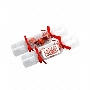 Clear Christmas Crackers with 3 X Lindor Balls