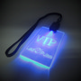 LED Lanyard with regular cable