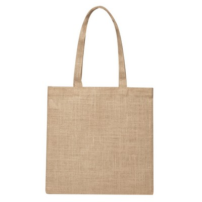 Picture of Raw Jute Simple Shoulder Bag (Factory Direct Indent Stock)