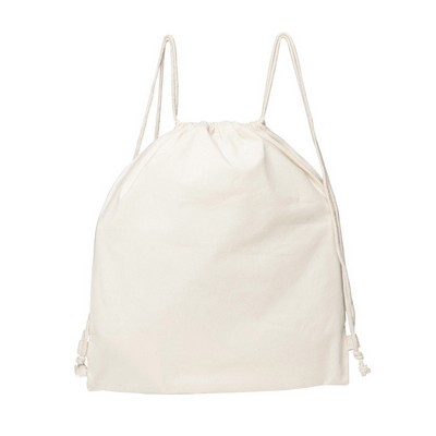 Picture of Cotton Drawstring Back Pack (Warehouse Stock)