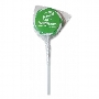 Green & White Swirl Lollipops - 40mm dia